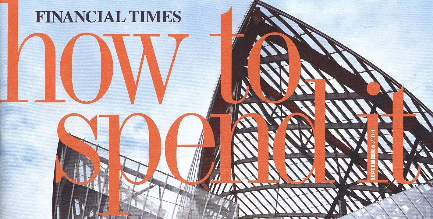 FT 'How to Spend It', October 2014