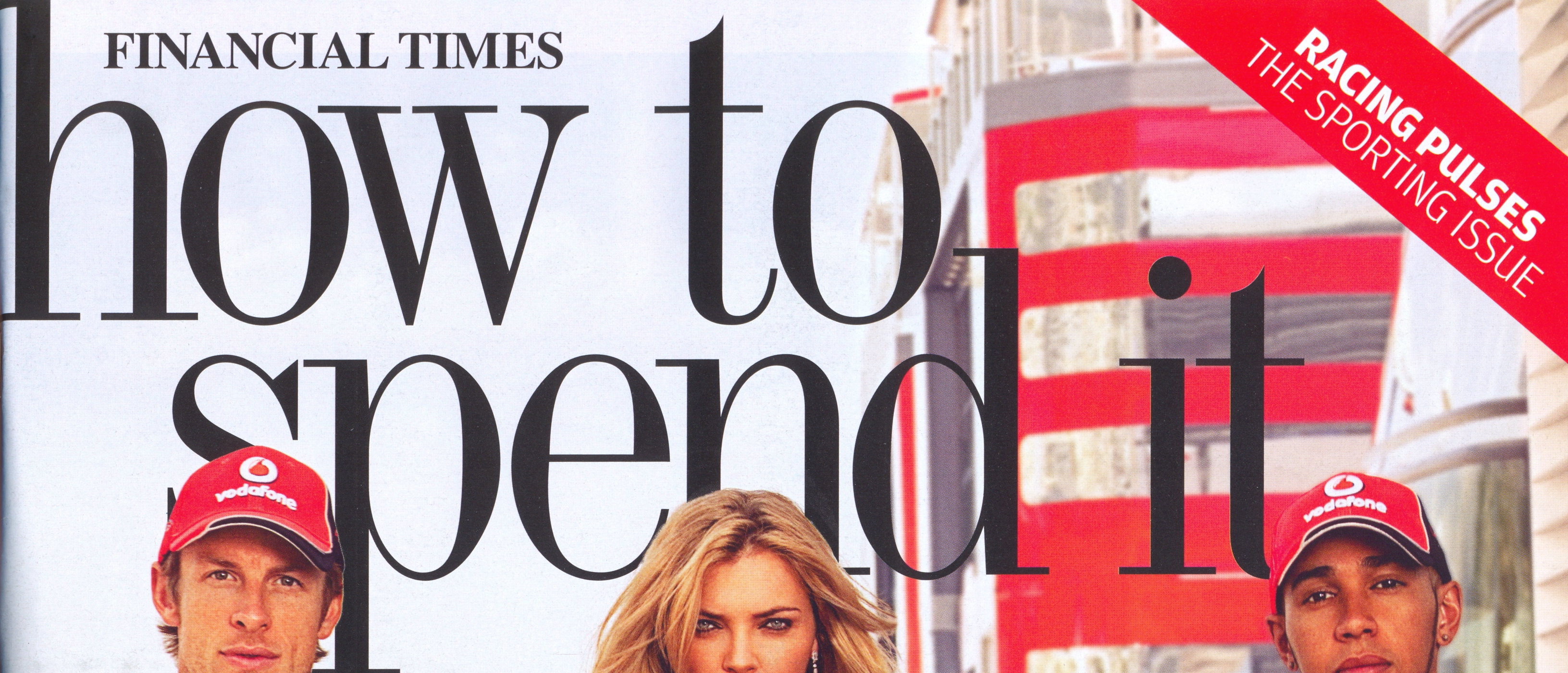 Financial Times How to Spend It - F1 Supplement, September 2011